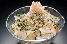 沙丁雏鱼萝卜沙拉