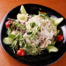 涮豬肉沙拉