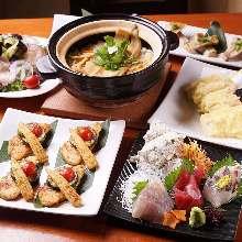 4,554日元套餐 (7道菜)