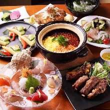 5,601日元套餐 (9道菜)