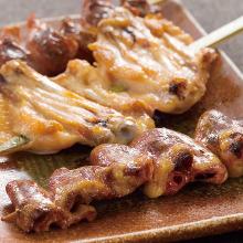 3种烤鸡串拼盘