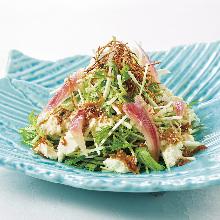 豆腐沙丁雏鱼沙拉
