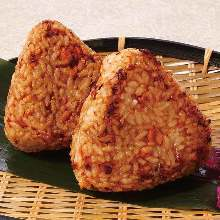 鲑鱼烤饭团