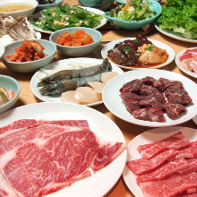 3,900日元套餐 (63道菜)