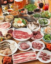 6,200日元套餐 (76道菜)