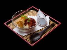 糯米团红豆汤