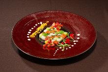 意式生腌鲑鱼