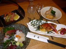 5,940日元套餐 (6道菜)