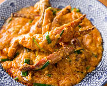 咖喱蛋炒虾