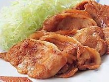 姜汁猪肉套餐
