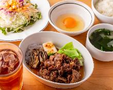 牛肉寿喜烧套餐