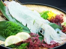 整鱼生鱼片