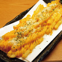 炸薯条浇汁奶酪
