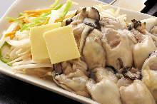 黄油烤牡蛎