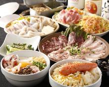 3,850日元套餐 (6道菜)