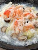 蟹肉盖浇炒饭