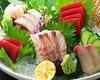 生鱼片五种拼盘