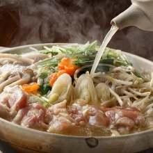 土鸡清汤火锅