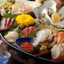 6,400日元套餐 (9道菜)