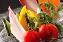 时令蔬菜拼盘