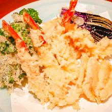 蔬菜天妇罗拼盘