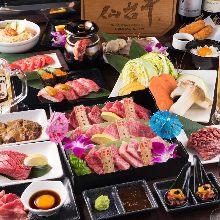 5,054日元套餐 (125道菜)