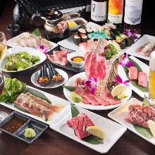 3,974日元套餐 (100道菜)