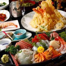 10,800日元套餐 (9道菜)