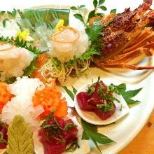 伊势龙虾(生鱼片)