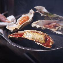 烤箱烤制牡蛎