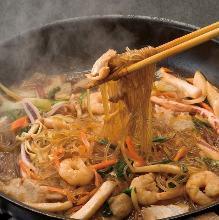 韩式蔬菜炒粉丝