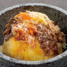 石锅奶酪拌饭