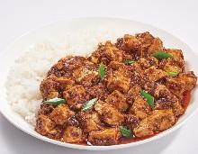 麻婆豆腐盖饭