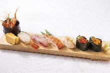 6种握寿司拼盘