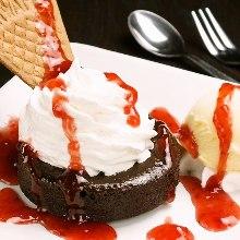 熔浆巧克力蛋糕