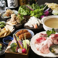 3,828日元套餐 (33道菜)