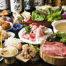 6,028日元套餐 (35道菜)