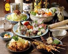 4,928日元套餐 (7道菜)