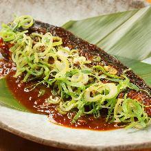 炙烤青花鱼