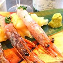 甜虾(生鱼片)