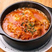 番茄炖牛筋