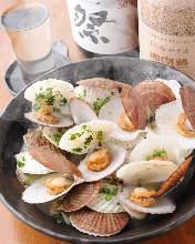 黄油烤蛤子