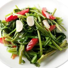 蒜香煸炒空心菜