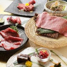 9,800日元套餐 (14道菜)