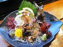蝾螺(生鱼片)