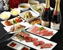 5,184日元套餐 (9道菜)