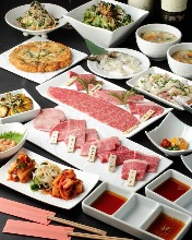 10,800日元套餐 (16道菜)