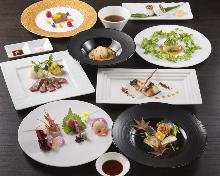 15,000日元套餐 (7道菜)