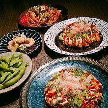 2,000日元套餐 (4道菜)