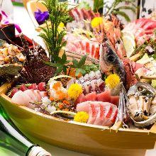 4,000日元套餐 (8道菜)